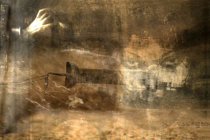Digital Arts, photo montage, expressionism, artwork by Philippe Berthier