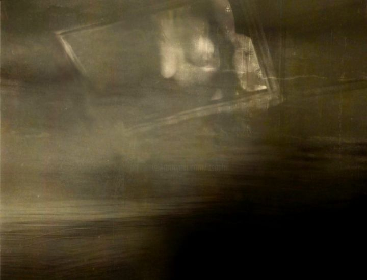SUSPENDU.......LE TEMPS.... - Photography, ©2000 by Philippe Berthier -                                                                                                                                                                                                                                                                                                                                                                  Expressionism, expressionism-591, Other, Nude, nu, surréaliste, Limited Edition