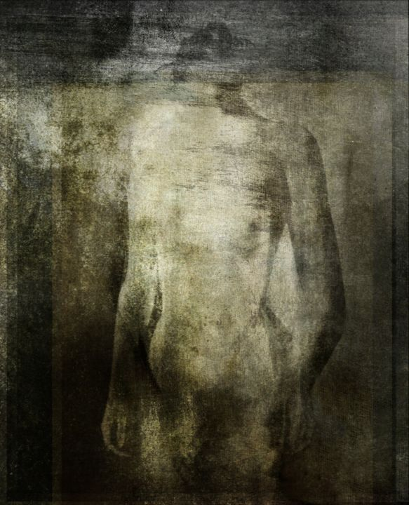 TRANSPARENCE...................................... - Photography, ©2016 by Philippe Berthier -                                                                                                                                                                                                                                                      Other, Nude, corps, femme, Limited Edition