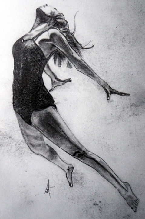 """Drawing titled """"A swimsuit and a re…"""" by Askew Mind, Original Art, Pencil"""