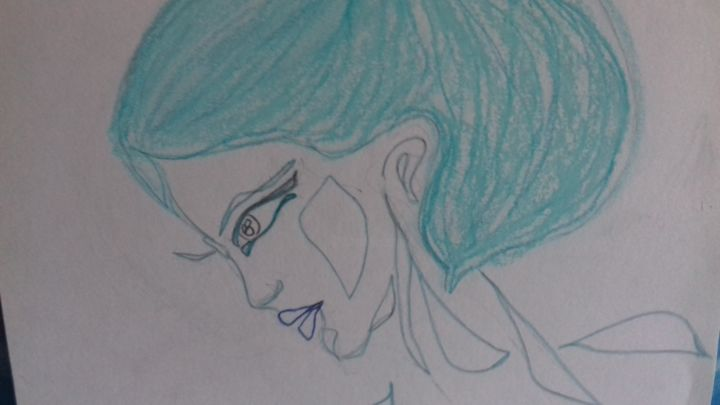 Persephone Aime Hades Drawing By Athena Artmajeur