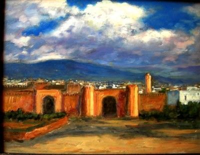 Photo_011.jpg - Painting, ©2006 by Atlas Alaoui Hassan -