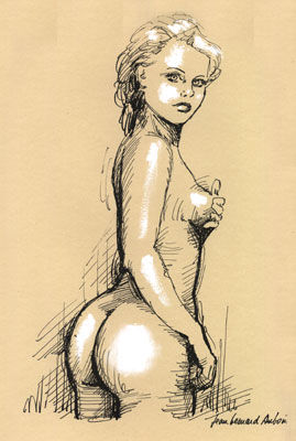 Drawing © by Jean Bernard Auboin -  Drawing