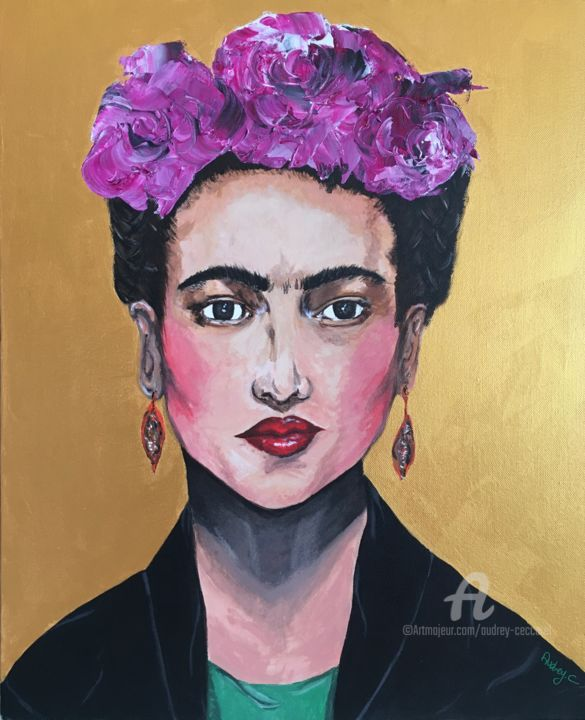 Frida Kahlo Painting By Mzelle Cecca Artwork Artmajeur