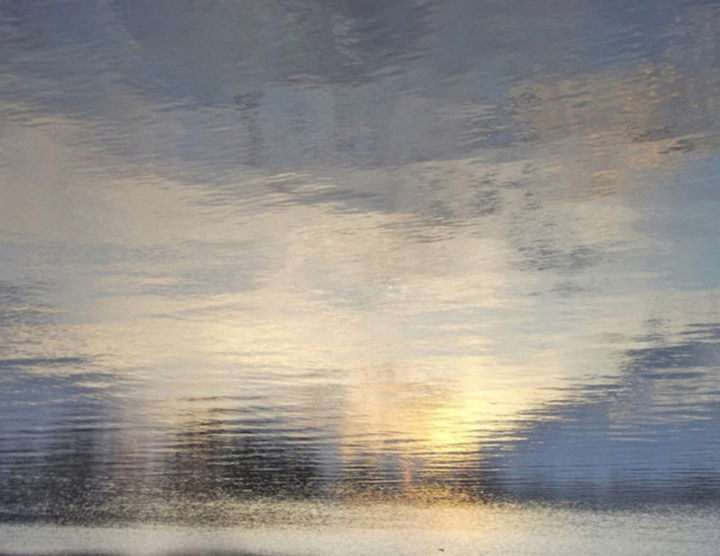 ABSTRACT IMPRESSIONISM XXI: Ltd. Ed. 1/12 - L Can. - Photography,  38x47.5x1.5 in, ©2018 by Curtis H. Jones -                                                                                                                                                                                                                                                                                                                                                                                                                                                                                                                                                                                                                                                                                  Abstract, abstract-570, Colors, Light, Nature, Water, fine art photography, sunset fine art, sunset canvas, fine art nature photography, impressionism art, impressionism photography, impressionistic sunset, Limited Edition