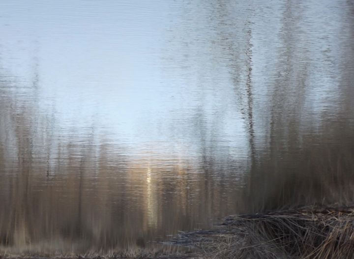 IMPRESSIONISM XXXI: Limited Ed. 1/12 - Med Canvas - Photography,  24x30x1.5 in, ©2015 by Curtis H. Jones -                                                                                                                                                                                                                                                                                                                                                                                                                                                                                                                                                                                                                                                                                                                                                                                                                                                                  Impressionism, impressionism-603, Botanic, Cinema, Colors, Fairytales, Fantasy, fine art nature photography, contemporary photography, impressionism, impressionistic artwork, impressionism photography, new mexico photography, landscapes, landscape photography, contemporary landscape, impressionism art, Limited Edition