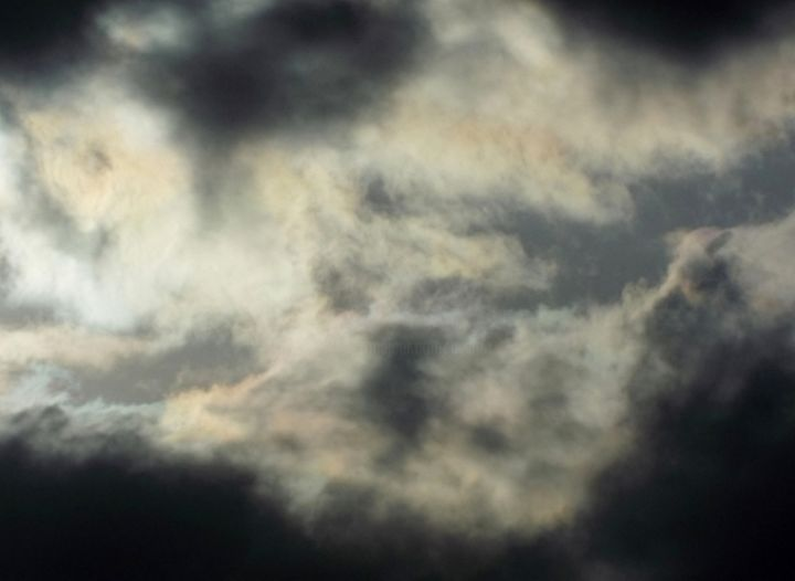 """Photography titled """"CLOUDS - """"Sunset I""""…"""" by Curtis H. Jones, Original Art, Digital Photography Mounted on Stretcher frame"""