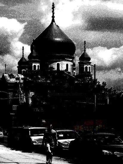 russian reminiscence - Photography,  29.5x22.1x0.4 in, ©2008 by Andre Van Der Kerkhoff -