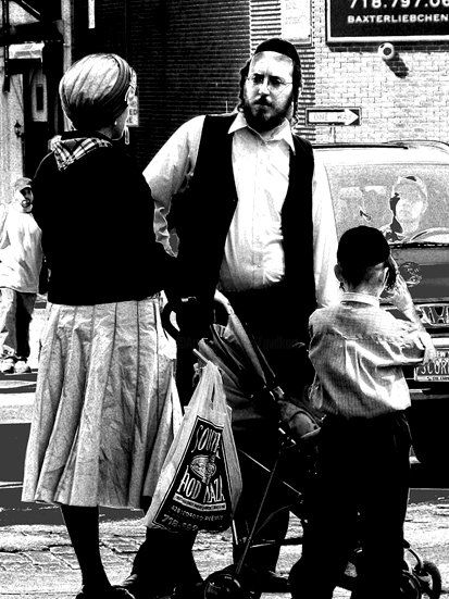 waiting for a kosher limousine - Photography,  29.5x22.1x0.4 in, ©2008 by Andre Van Der Kerkhoff -