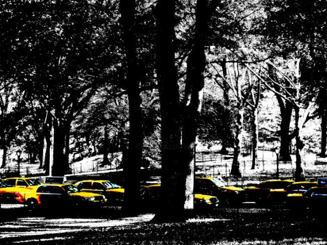 in memory of lennon's yellow submarine - Photography,  22.1x29.5 in, ©2008 by Andre Van Der Kerkhoff -