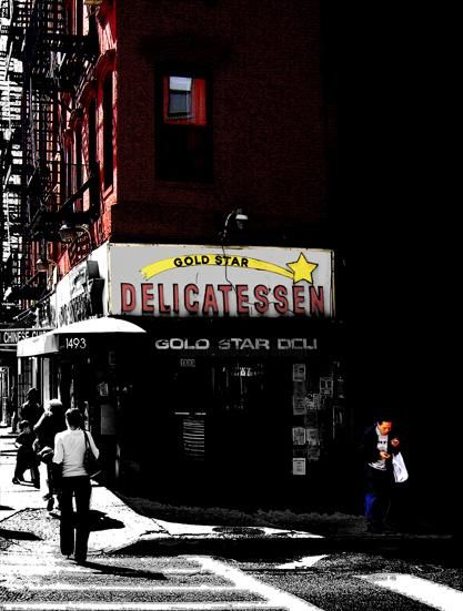 pastrami blues - Photography,  29.5x22.1x0.4 in, ©2008 by Andre Van Der Kerkhoff -