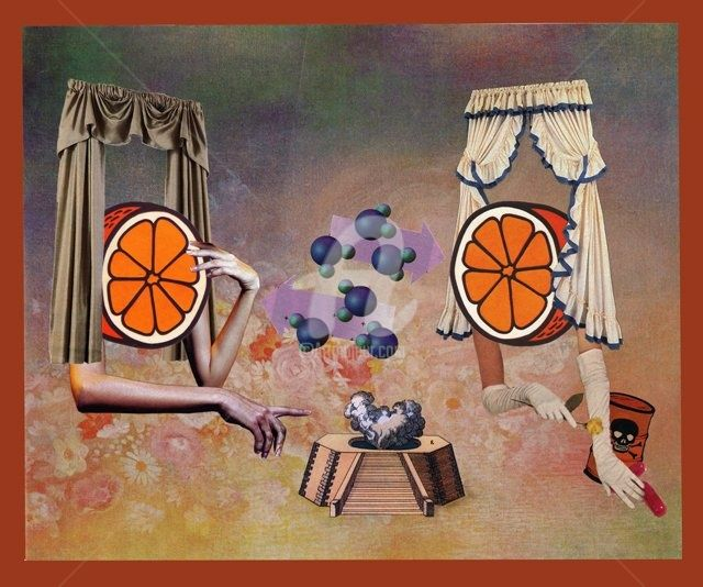 """Collages titled """"agree to disagree"""" by C Avery, Original Art,"""
