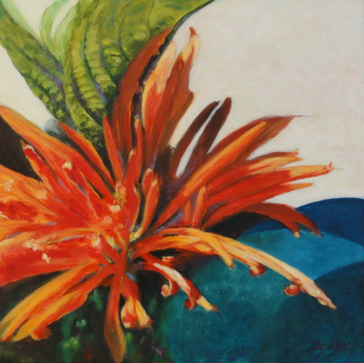 """Painting titled """"Trouvaille"""" by Azucena, Original Art, Oil"""