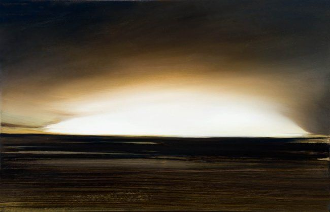INCANDESCENCE ou L'ORGUEIL de BABYLONE. - Painting,  25.6x39.4 in, ©2008 by B-ALEXIS -