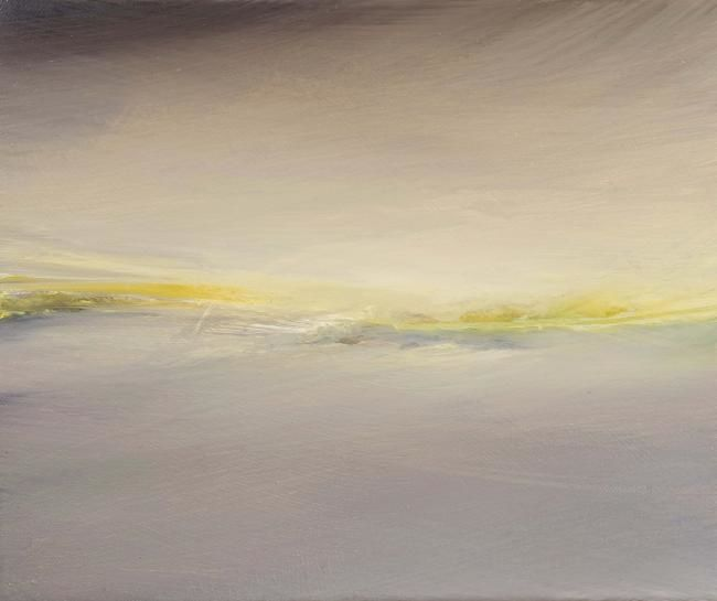 PAYSAGE DE TURNER - Painting,  30x25 cm ©2009 by B-ALEXIS -