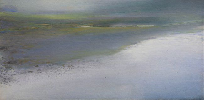 RIVAGE. - Painting,  30x60 cm ©2012 by B-ALEXIS -