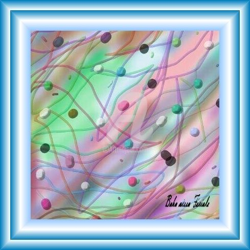 Vibrations - Digital Arts, ©2012 by Ferial Baba Aissa -