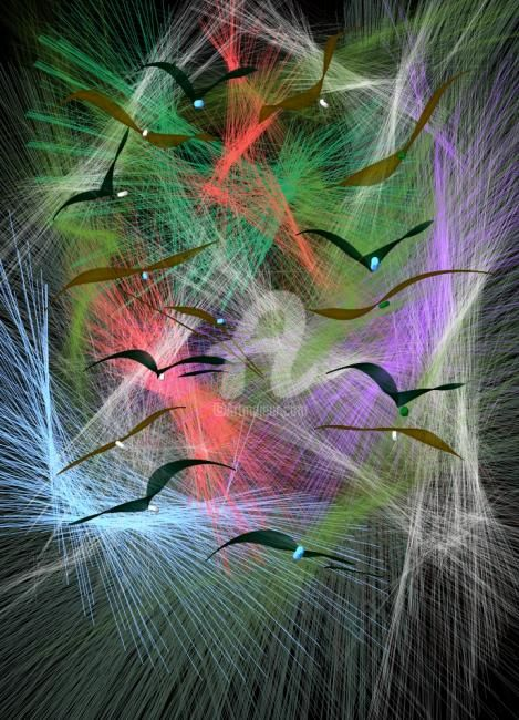 vol de nuit - Digital Arts, ©2012 by Ferial Baba Aissa -