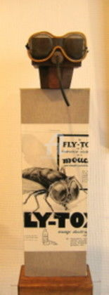 Fly tox NOUVEAUTE - Painting,  30.7x8.7 in, ©2009 by Elisabeth Faucheur -
