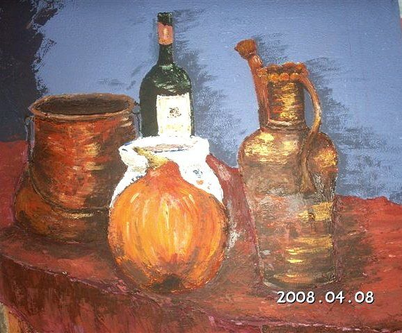 POTS - Painting ©2008 by Babou -