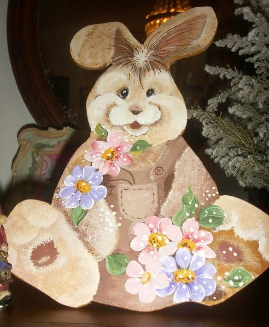 LE LAPIN - Painting ©2008 by Babou -