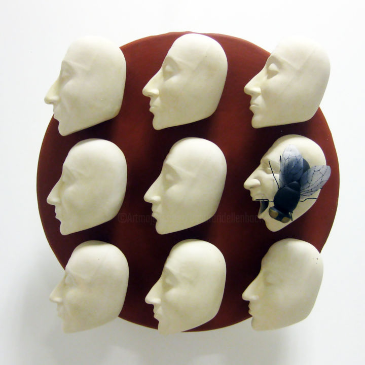 Sculpture, ceramics, conceptual art, artwork by Bahar Ari Dellenbach