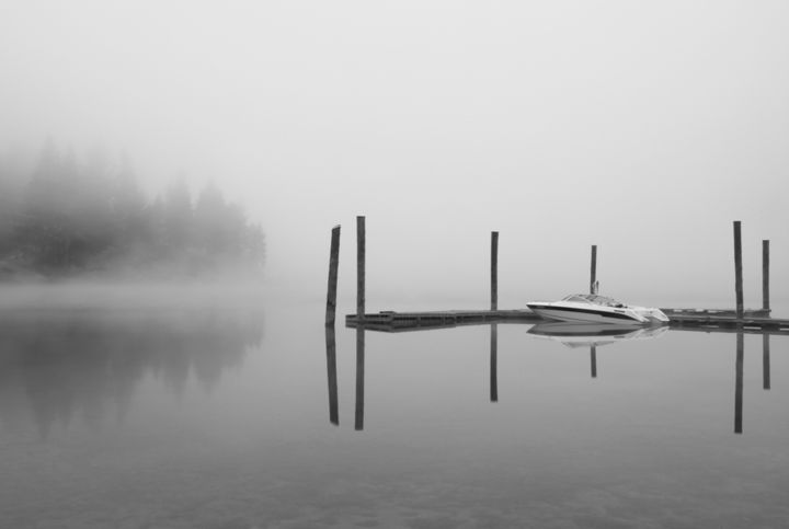 """Photography titled """"Reflections on Myst…"""" by Barry Greff, Original Art,"""