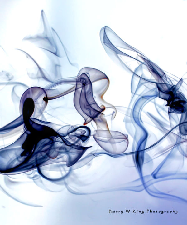 etherealize - smoke photography - © 2019  Online Artworks