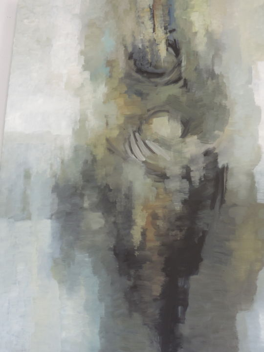 """Painting titled """"Affection"""" by Bartholameuse Wimalaratne, Original Art, Oil"""