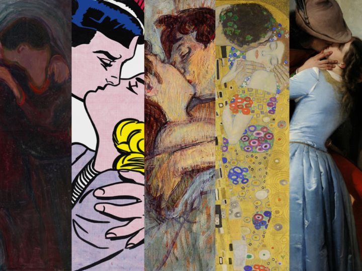 Top 8 of the Most Emblematic Kisses in the Art History