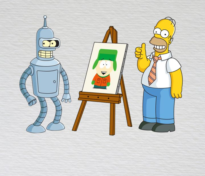 Artistic References in Popular TV Shows