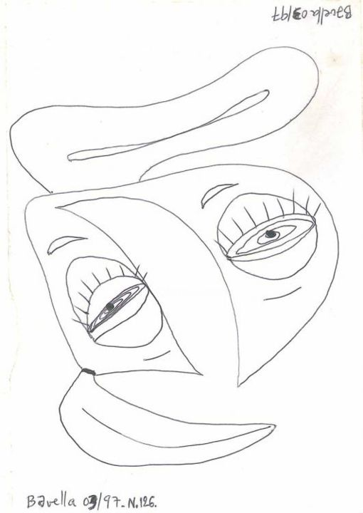 da_126_bavella.jpg - Drawing ©1997 by Laurent Bavella -