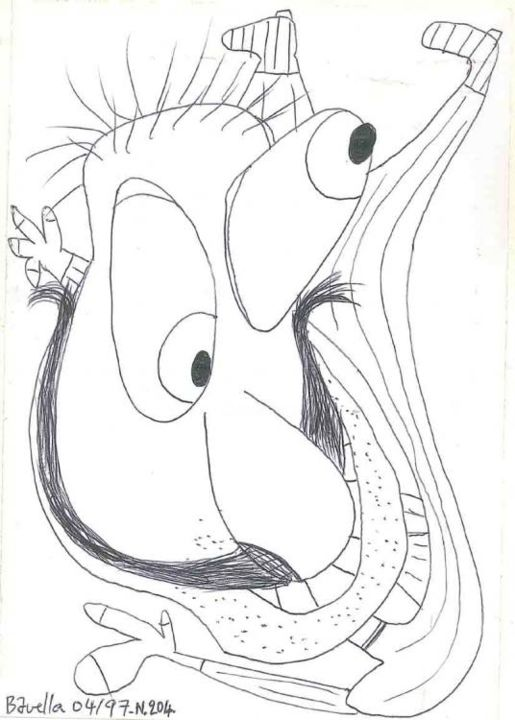 da_204_bavella.jpg - Drawing ©1997 by Laurent Bavella -