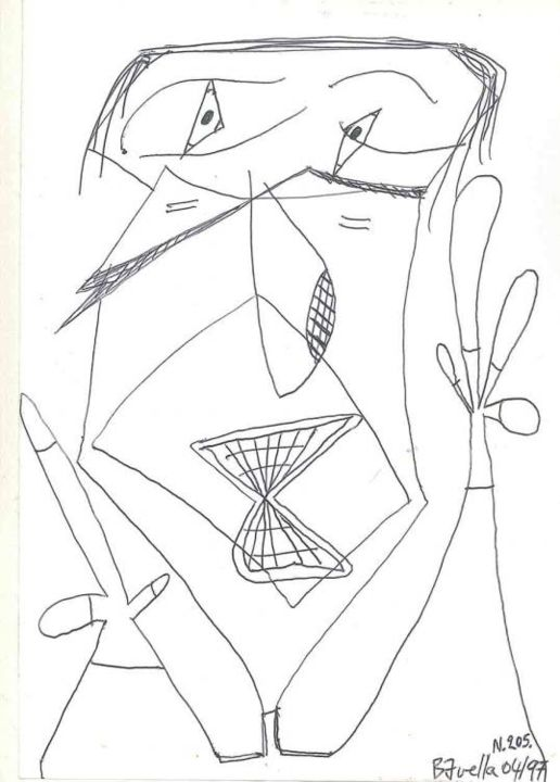 da_205_bavella.jpg - Drawing ©1997 by Laurent Bavella -