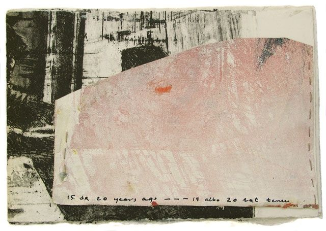 15 0r 20 years ago - Collages, ©2005 by Beata Wehr -