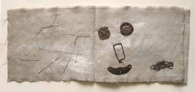 Book 97, Travel  stories - Collages, ©2009 by Beata Wehr -