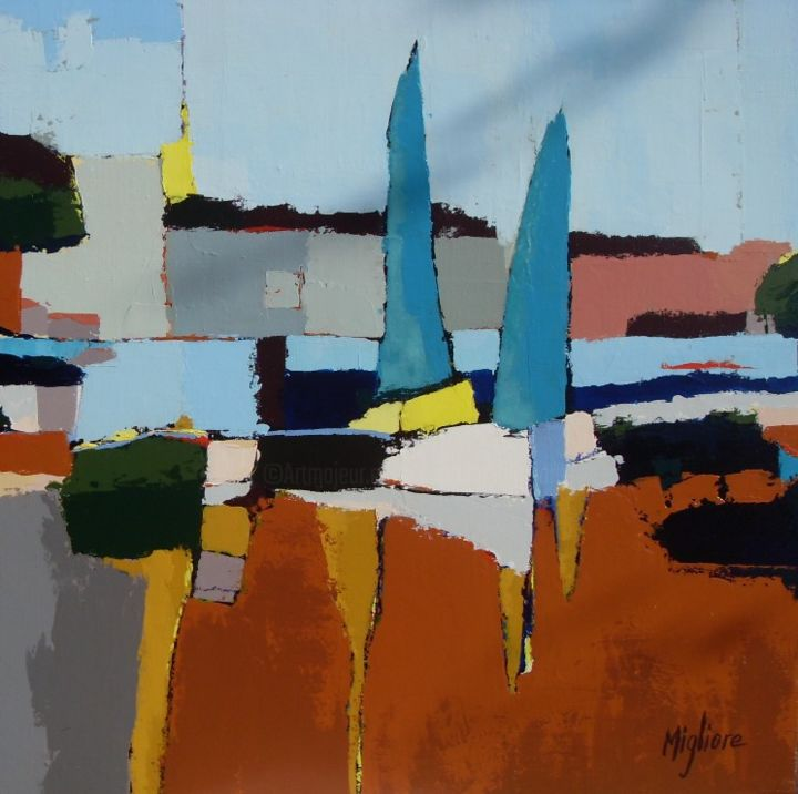 Bateaux - Painting ©2015 by Migliore -