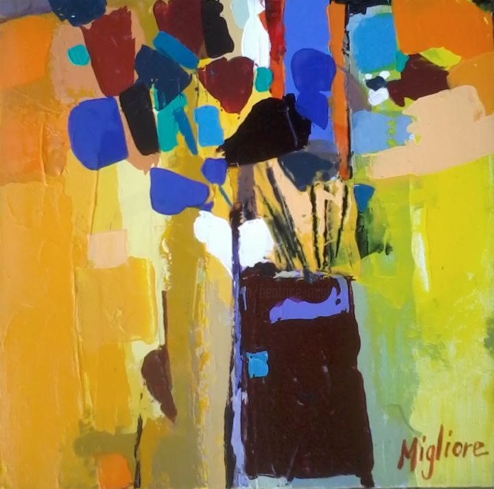 Bouquet - Painting, ©2015 by Migliore -