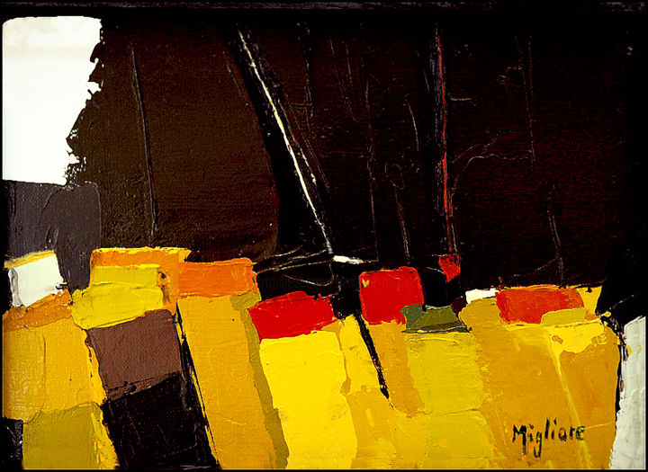 Sans titre - Painting, ©2015 by Migliore -