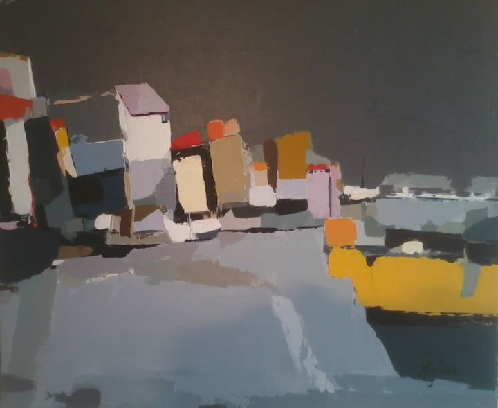 Ostende - Painting ©2015 by Migliore -
