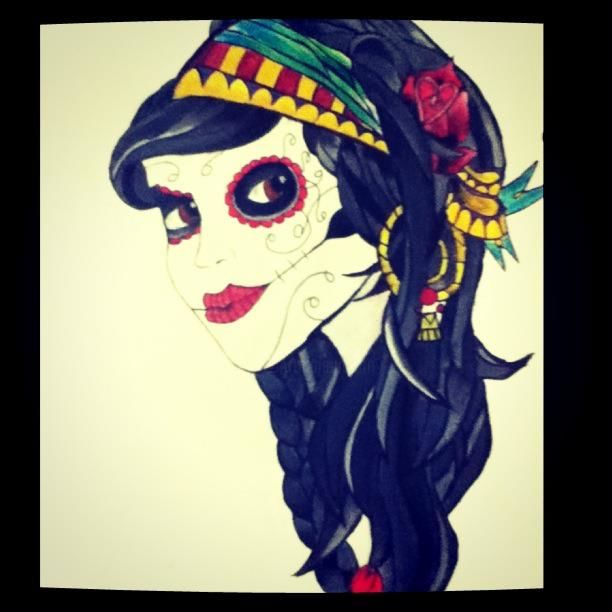 """Painting titled """"Gypsy"""" by Becca, Original Art,"""