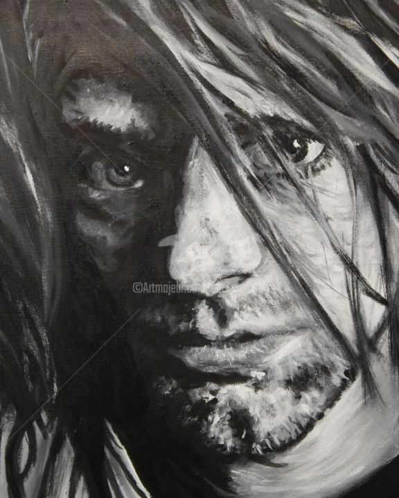 Kurt - © 2018 Nirvana, Kurt Cobain Online Artworks