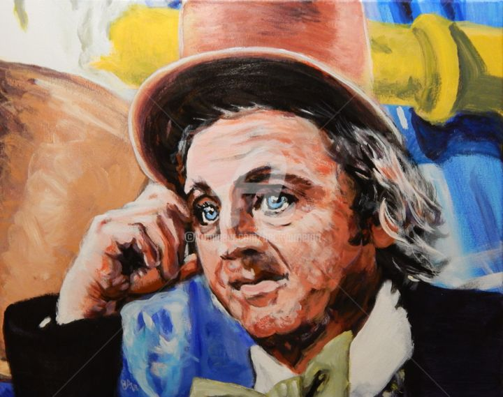 Willy Wonka - © 2018 Gene Wilder, Willy Wonka, Charlie the Chocolate Factory Online Artworks