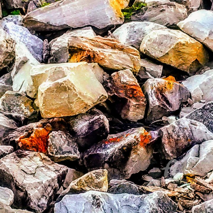 Rocks ~ - Photography ©2018 by Bella Bourgeois -