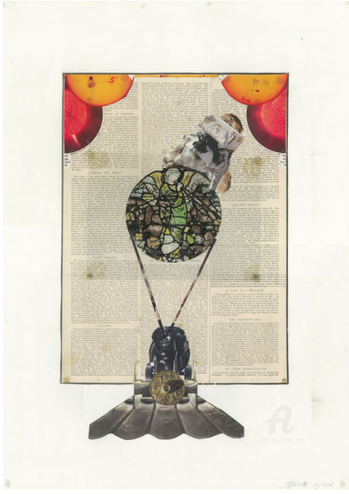 """Collages titled """"Finding the artefact"""" by benedictdoug, Original Art, Collages"""