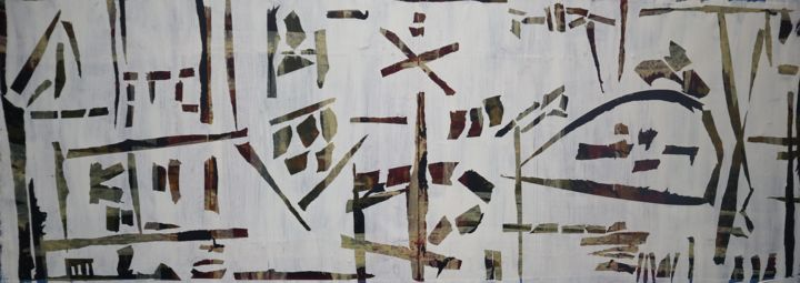"""Painting titled """"Extracting from the…"""" by Bent, Original Art, Acrylic"""