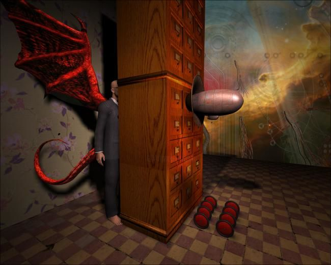 """Painting titled """"Ministry of Solitude"""" by Don Bergland, Original Art,"""