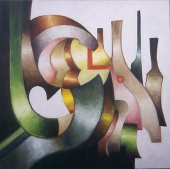 jubilation 2 - Painting ©2002 by Bernard Alaux -