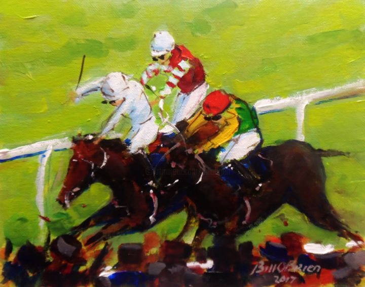 horse-racing-punchestown-2017.jpg - © 2017 horse racing, puncherstown Online Artworks