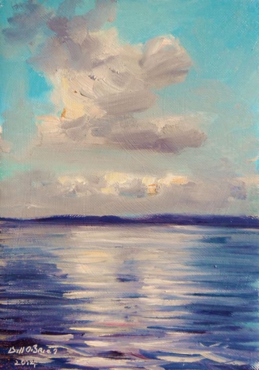 Clouds over Lough Ree Ireland - ©  lake, lough ree, ireland, shannon Online Artworks